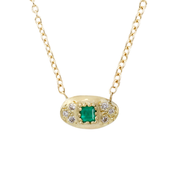 Samara Necklace-Emerald