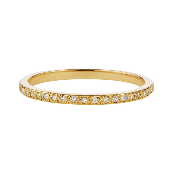 Thinnest White Diamond Eternity Band