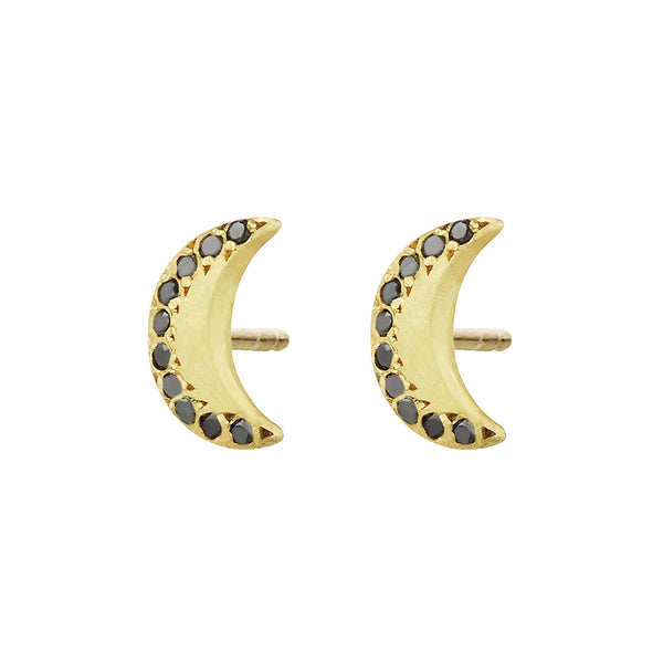 Queen of the Night Studs, Black Diamond