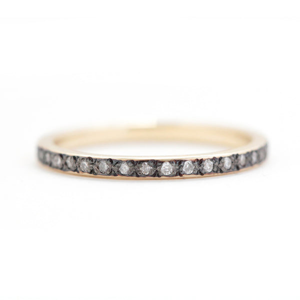 Astral eternity band white diamond