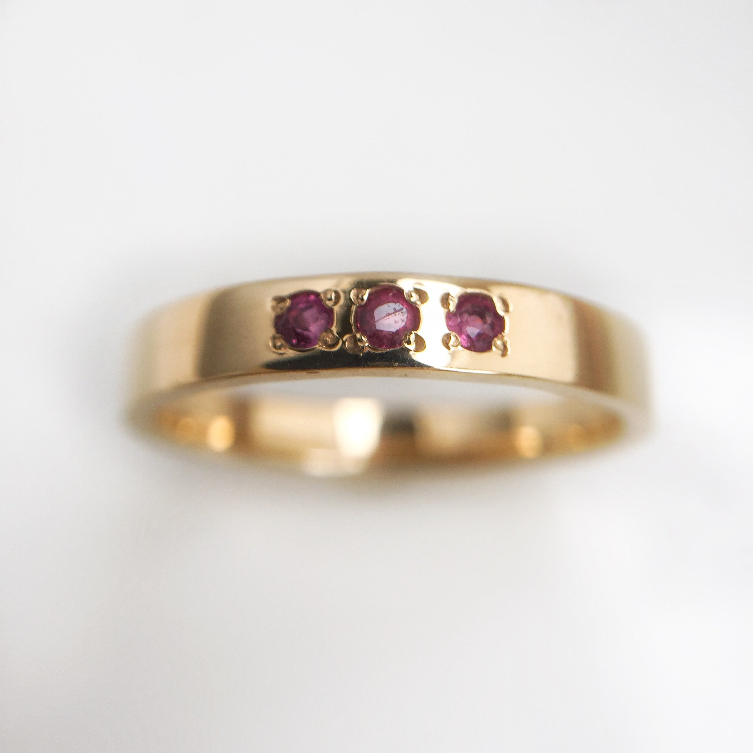 India Kiss Ruby Ring