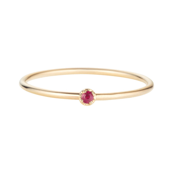 Prong Ring, Ruby