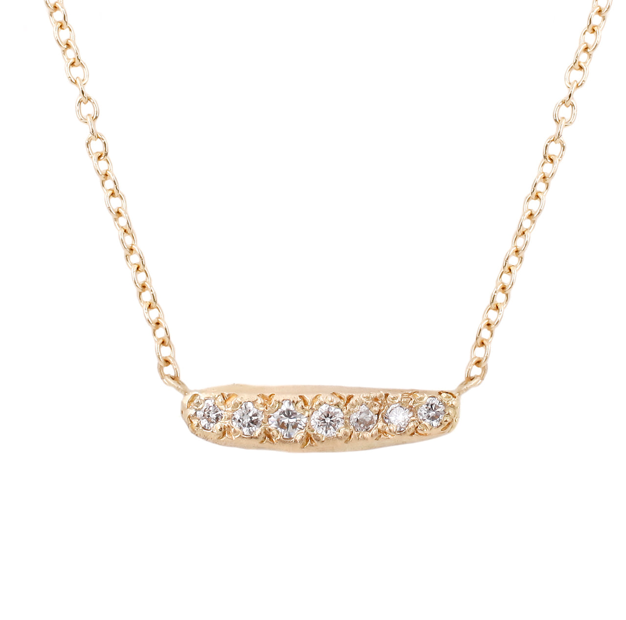 Aurora Necklace-White Diamonds
