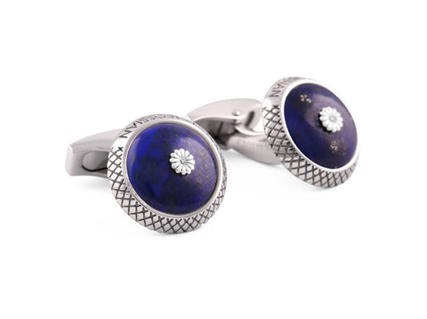 Tateossian: Blue Lapis Cufflinks