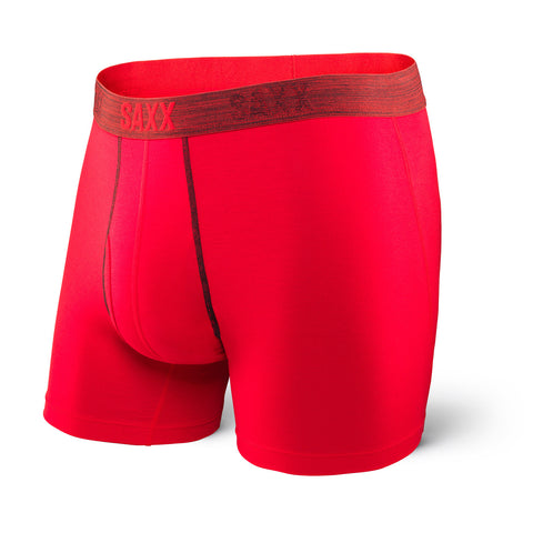 SAXX: Platinum Boxer Fly Red