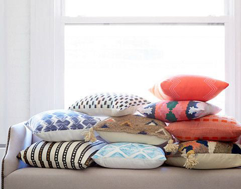 Check out the new pillow arrivals on One Kings Lane!