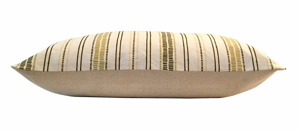 Canopy Stripe Pillows, pair of 2