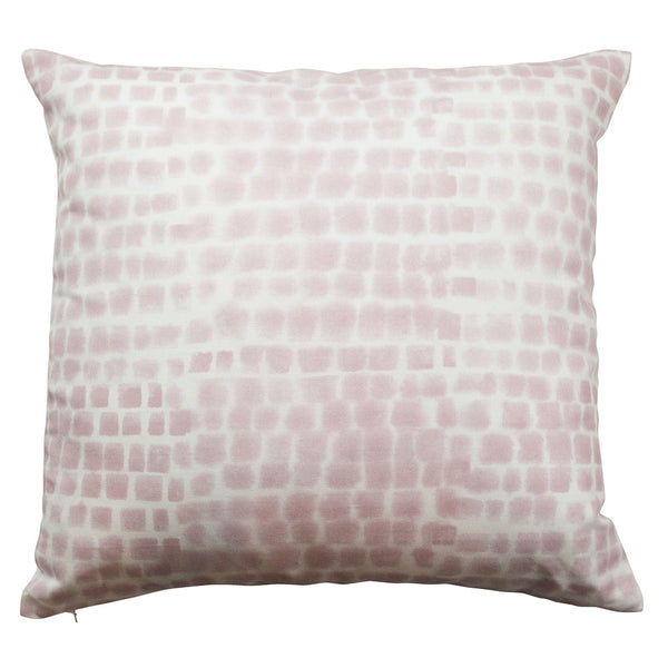 Spotted Grid Pillow