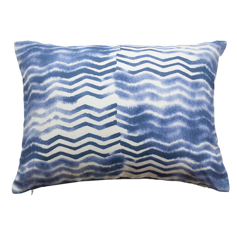 "Soft Chevron Pillow, size 20"" x 16"""