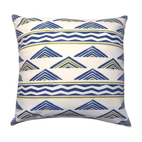 Aztec Chevron Pillow, pair of 2