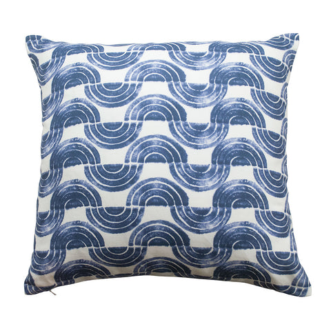 Serpentine Waves Pillow