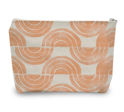 Serpentine Waves Zipper Pouch