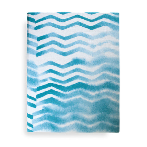 Soft Chevron Journal, large
