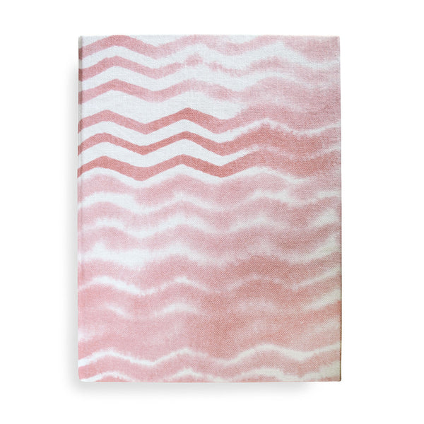 Soft Chevron Journal, large and small