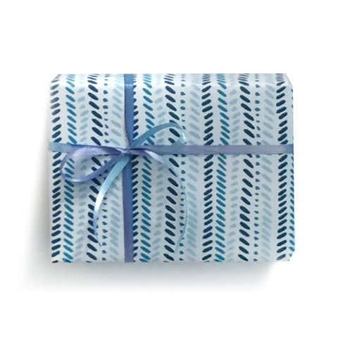 Slash Mark Stripe Gift Wrap, Set of 6 sheets