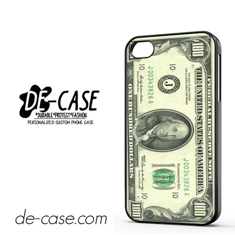 100 Dolar DEAL-02 Apple Phonecase Cover For Iphone 4 / Iphone 4S
