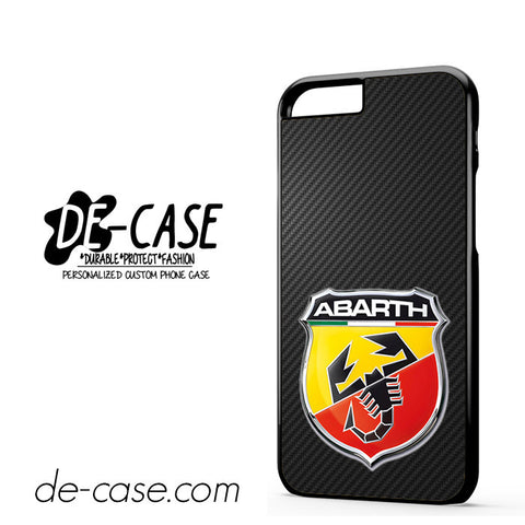 Fiat 500 Abarth Logo Carbon DEAL-4193 Apple Phonecase Cover For Iphone 6 / 6S