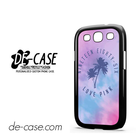 1986 Love Pink DEAL-06 Samsung Phonecase Cover For Samsung Galaxy S3 / S3 Mini