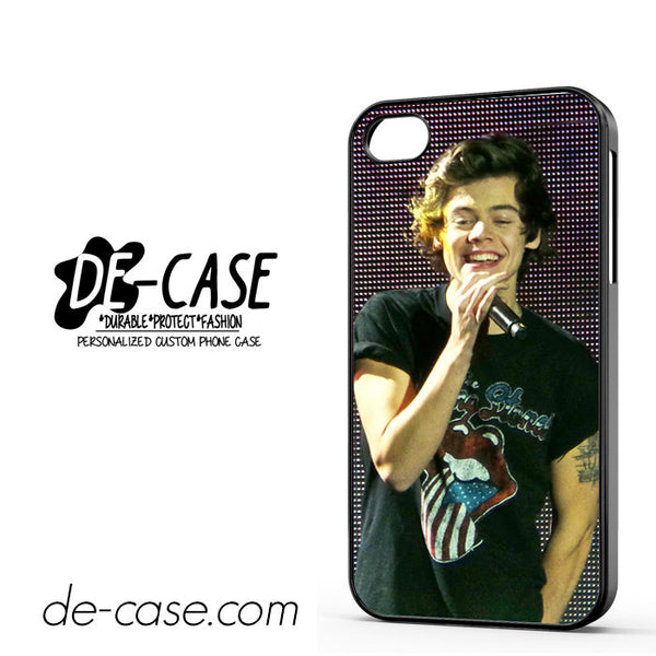 1D One Direction Harry Styles DEAL-07 Apple Phonecase Cover For Iphone 4 / Iphone 4S