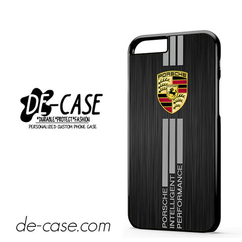 Porsche Aluminium Brushed Printed DEAL-8868 Apple Phonecase Cover For Iphone 6 / 6S