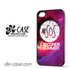 5 Sos Seconds Of Summer Purple Space Galaxy For Iphone 4 Iphone 4S Case Phone Case Gift Present