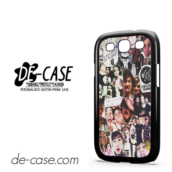5 Sos Seconds Of Summer For Samsung Galaxy S3 Case Phone Case Gift Present