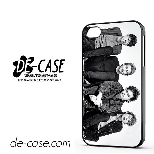 5 Sos Seconds Of Summers All Band Character For Iphone 4 Iphone 4S Case Phone Case Gift Present