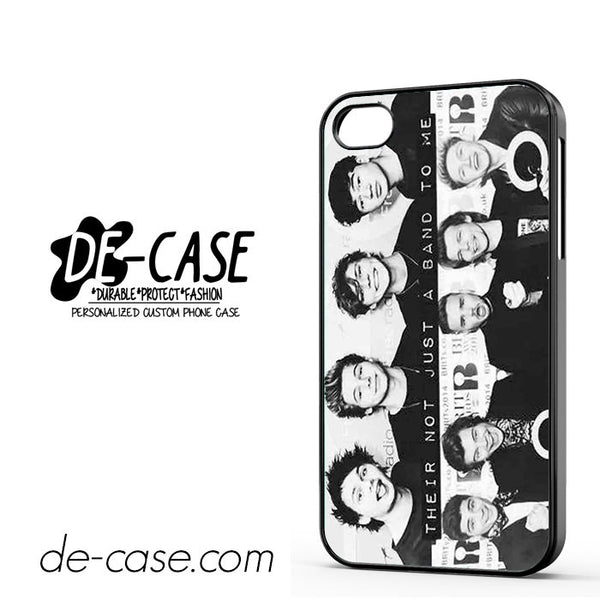 5 Seconds Of Summer One Direction Their Not Just A Band To Me For Iphone 4 Iphone 4S Case Phone Case Gift Present