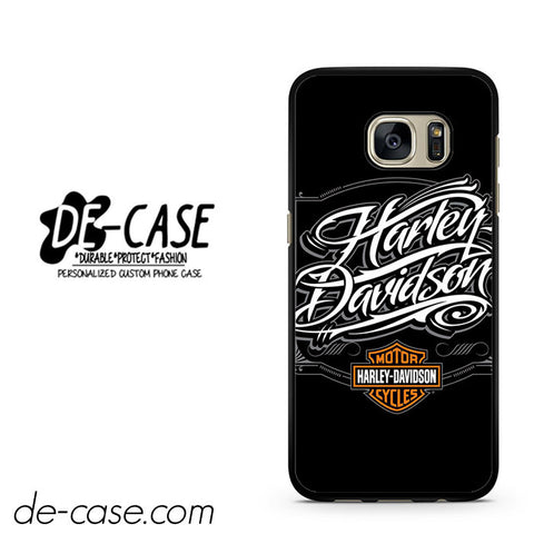 Harley Davidson Skull DEAL-5055 Samsung Phonecase Cover For Samsung Galaxy S7 / S7 Edge