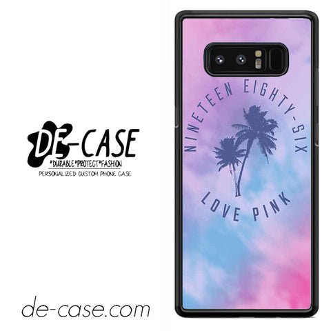 1986 Love Pink DEAL-06 For Galaxy Note 8 Case