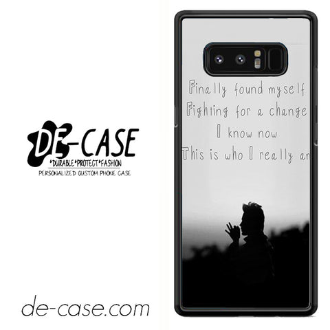 30 Seconds To Mars Found My Self DEAL-32 For Galaxy Note 8 Case