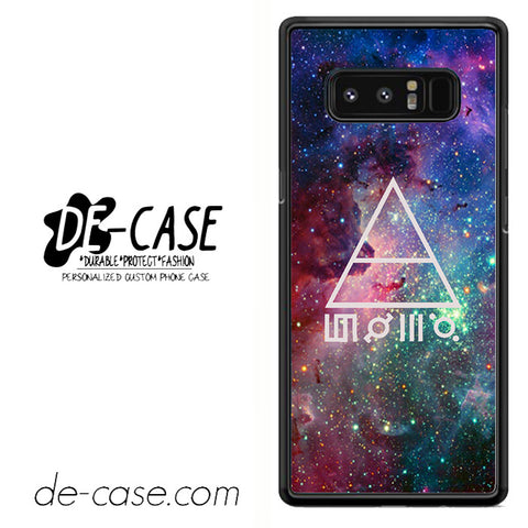 30 Seconds To Mars Galaxy Space DEAL-34 For Galaxy Note 8 Case