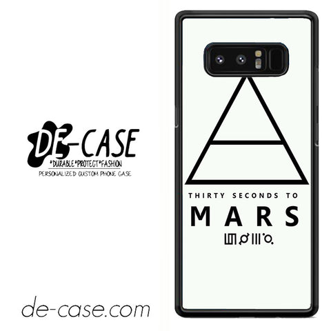 30 Seconds To Mars Logo Art DEAL-37 For Galaxy Note 8 Case