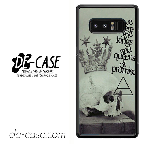 30 Seconds To Mars Lyrics Bravo DEAL-42 For Galaxy Note 8 Case