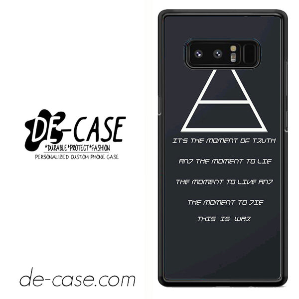 30 Seconds To Mars Quotes DEAL-46 For Galaxy Note 8 Case