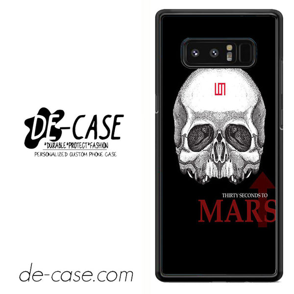 30 Seconds To Mars Skull Logo DEAL-48 For Galaxy Note 8 Case