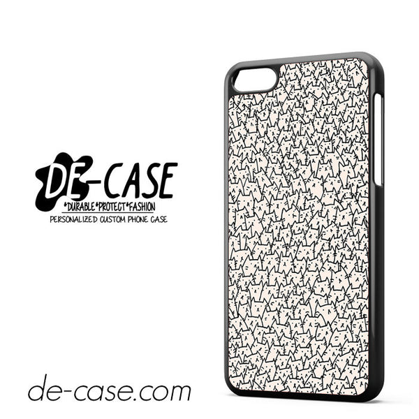 A lot Of Cat For Iphone 5C Case