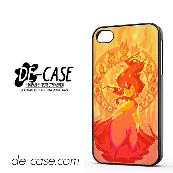 Adventure Time Characters Flame Princess Cartoon For Iphone 4 Iphone 4S Case Phone Case Gift Present