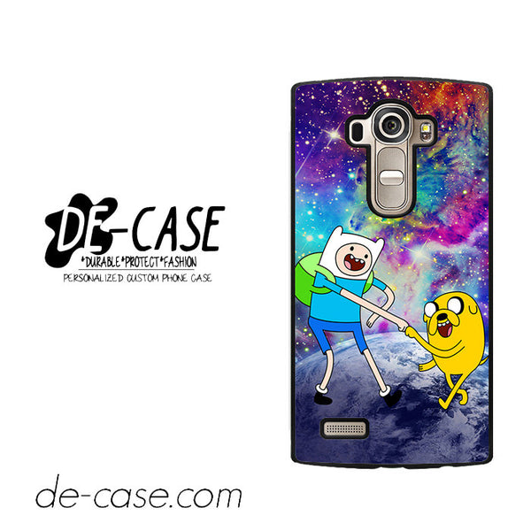Adventure Time Jake And Finn Nebula Space For LG G4 Case Phone Case Gift Present