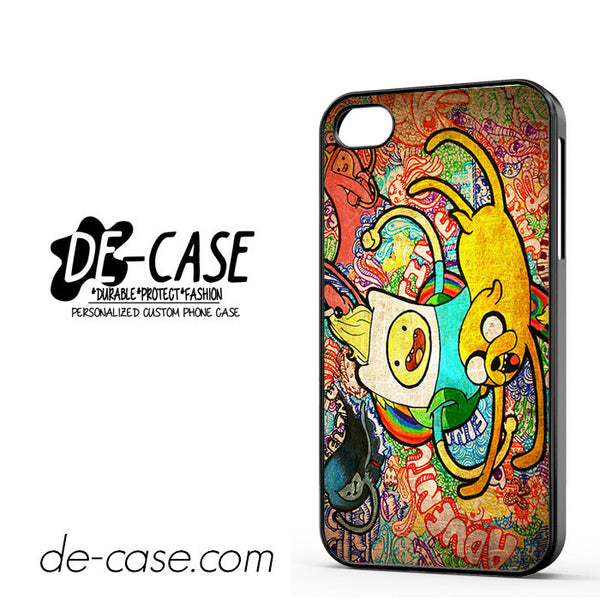 Adventure Time For Iphone 4 Iphone 4S Case Phone Case Gift Present