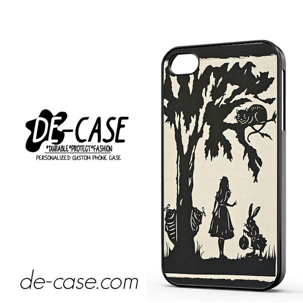 Alice In Wonderland Nightmare For Iphone 4 Iphone 4S Case Phone Case Gift Present