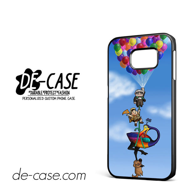 All Character Up Fly With Balloon For Samsung Galaxy S6 Edge Case