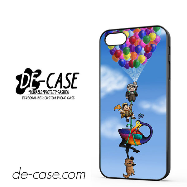 All Character Up Fly With Balloon For Iphone 5/5S Case