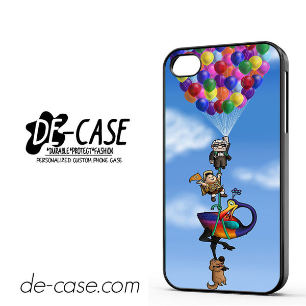 All Character Up Fly With Balloon For Iphone 4/4S Case