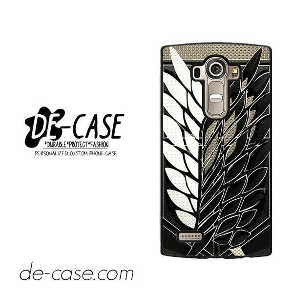 Attack On Titan Legion Logo Carbon For LG G4 Case Phone Case Gift Present