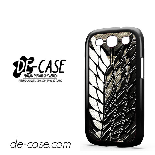 Attack On Titan Legion Logo Carbon For Samsung Galaxy S3 Case Phone Case Gift Present