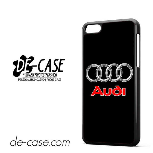 Audi Logo Car For Iphone 5C Case Phone Case Gift Present