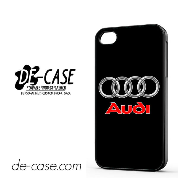 Audi Logo Car For Iphone 4/4S Case
