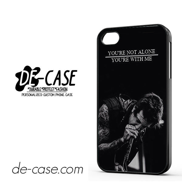 Austin Carlileof Mice And Men Lyrics Cover For Iphone 4 Iphone 4S Case Phone Case Gift Present