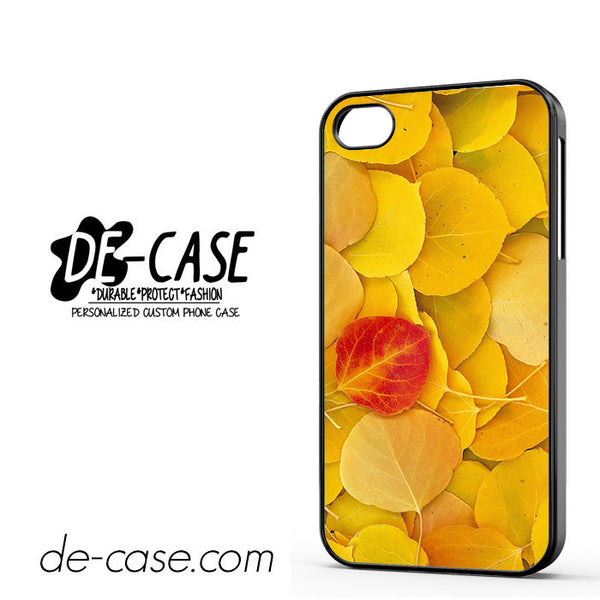 Autumn Season Leaves For Iphone 4 Iphone 4S Case Phone Case Gift Present